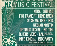 Natural NZ Music Festival Playing Times
