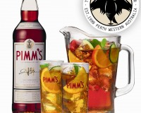 Its Pimms O'clock at the Lucky Shag!