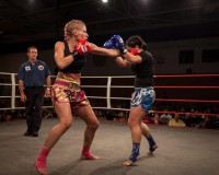 CARLEIGH CRAWFORD Lovin' The Muay Thai Life