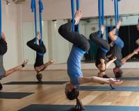 Aerial Yoga - Photo by Tracey Incau