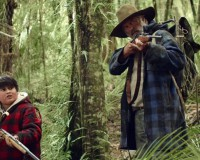 Julian Dennison and Sam Neill in Hunt For The Wilderpeople