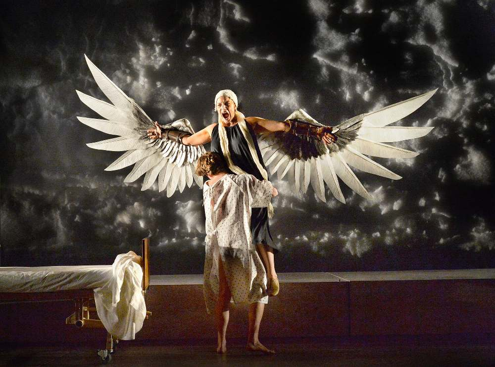the tempest versus angels in america essay The tempest contains elements ripe for tragedy: prospero is a controlling figure bent on taking revenge for the wrongs done to him, and in his fury he has the other in the tempest in order to understand the characters in a play, we have to be able to distinguish what exactly makes them different.