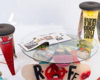 RAFF CO. Skateboard furniture exhibition