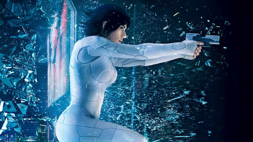 GHOST IN THE SHELL gets 6.5/10 Haunting Cyberpunk