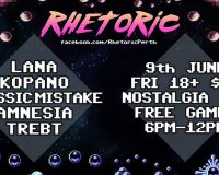 RHETORIC Electronica and game night is back