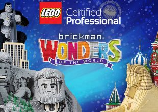WIN! BRICKMAN: WONDERS OF THE WORLD Family Pass