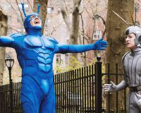 THE TICK gets 8/10 Leap before you look
