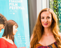 ELYSIA ZECCOLA Lavazza Italian Film Festival interview