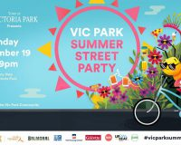 THE VIC PARK SUMMER STREET PARTY Park life