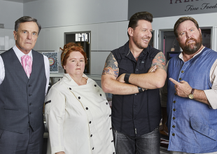 SHANE JACOBSON AND MANU FEILDEL The X-Press Grill