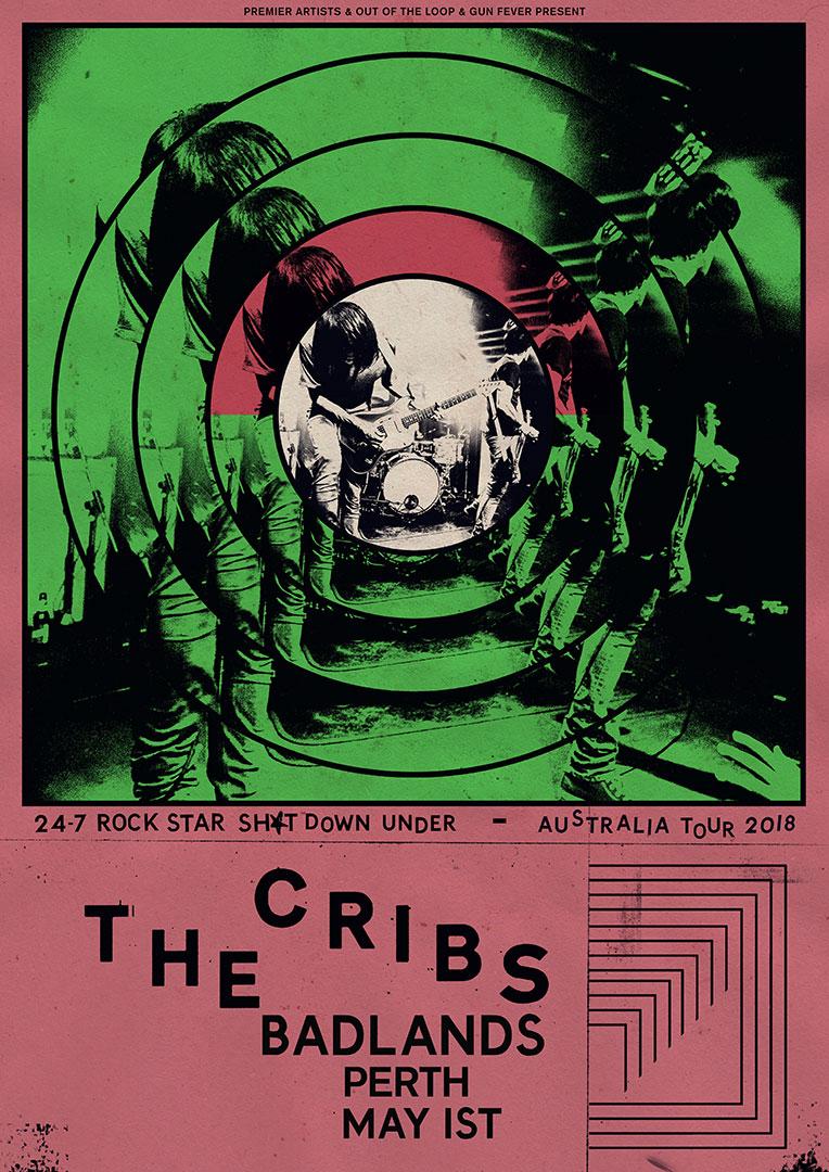 X Press Magazine Entertainment In Perth The Cribs Rock Star Shit