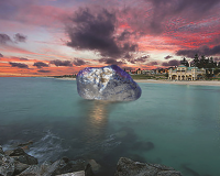 Zhan Wang's Floating Rock