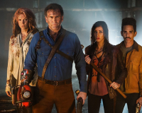 ASH vs EVIL DEAD gets 8/10 Groovy