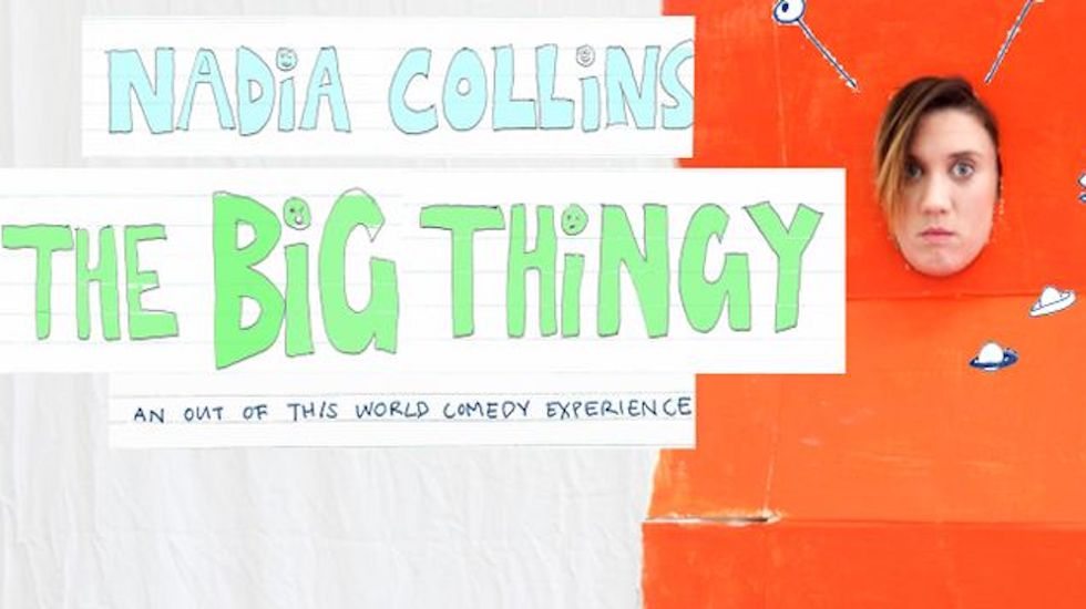 NADIA COLLINS Next big thingy