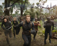 AVENGERS: INFINITY WAR gets 7.5/10 Throwing down the gauntlet