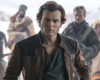SOLO: A STAR WARS STORY gets 7/10 Who's scruffy looking?