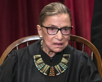 RBG – JUSTICE RUTH BADER GINSBERG gets 8/10 The other Biggie Small