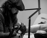 KRISTIAN KIMONIDES Colour realism, fainting farters & the Aus Tattoo Expo