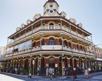The National Hotel, on High St, in Fremantle.