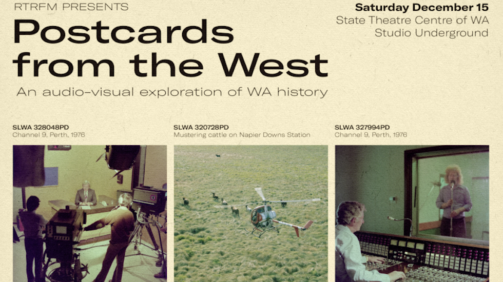 POSTCARDS FROM THE WEST Let's get archival