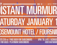 DISTANT MURMURS Playing times announced