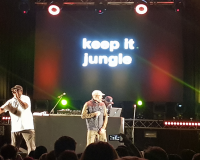 THE JUNGLE BROTHERS @ Chevron Gardens gets 8.5/10