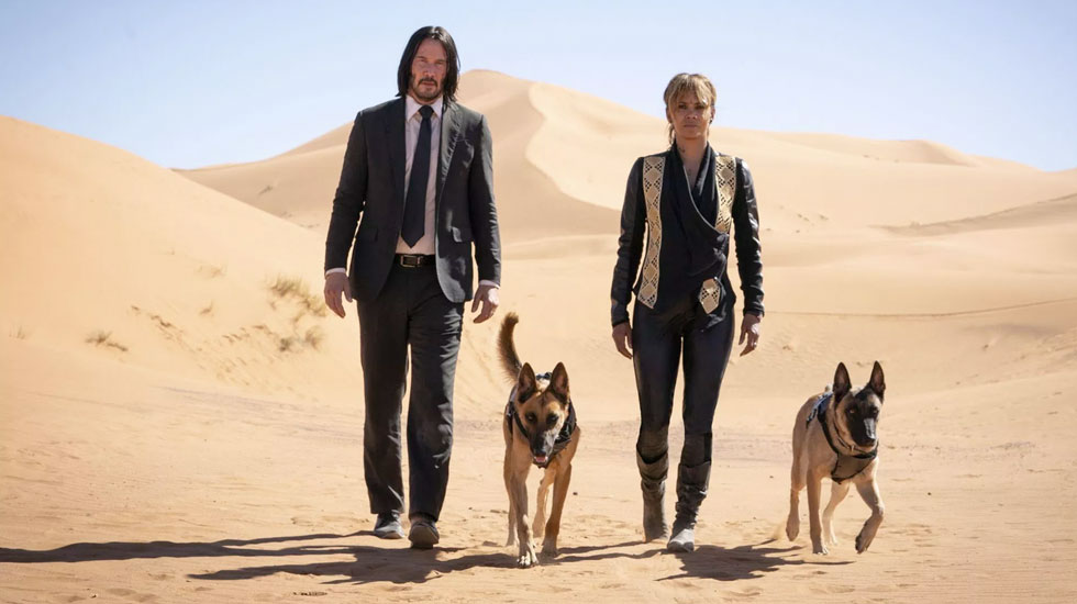 JOHN WICK: CHAPTER 3 – PARABELLUM gets 7/10 Doggone violence