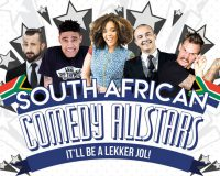 SOUTH AFRICAN COMEDY ALLSTARS @ The State Theatre Centre of WA gets 6.5/10