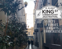 WIN! KING STREET CORNER POCKET JAZZ FESTIVAL Pocket Passes