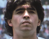 DIEGO MARADONA gets 8/10 Touched by the Hand of God