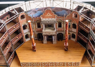 POP-UP GLOBE Step inside Shakespeare's time machine