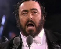PAVAROTTI gets 7/10 The great voice