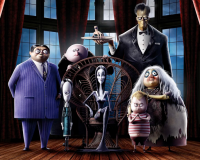 THE ADDAMS FAMILY gets 7/10 They're creepy and they're kooky