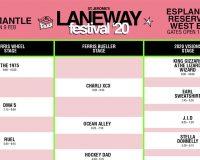 LANEWAY FESTIVAL Set times, Fontaines DC cancel