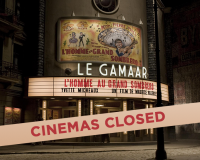 THE CINEMAS HAVE SHUT DOWN For now