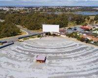 GALAXY DRIVE-IN THEATRE Big screen movies are back