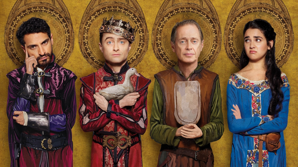 MIRACLE WORKERS: DARK AGES gets 6/10 From the heavens to the middle age