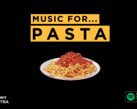 PERTH SYMPHONY ORCHESTRA'S MUSIC FOR PASTA Soundtracks for your nights in