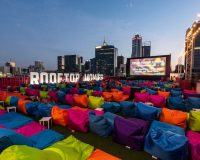 ROOFTOP MOVIES On top of the world