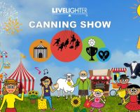 LIVELIGHTER CANNING SHOW It's show time!