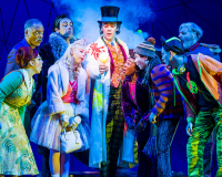 CHARLIE AND THE CHOCOLATE FACTORY Releasing golden tickets
